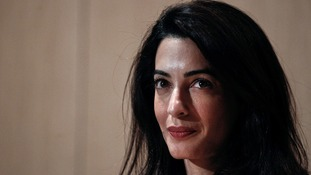 Amal Clooney threatened with arrest over report on Egypt's judicial system
