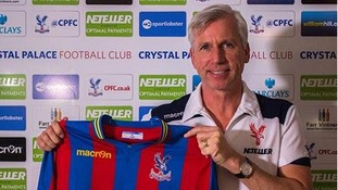 Crystal Palace new manager, Alan Pardew.