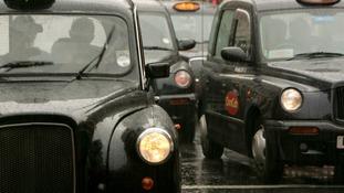 Black cabs.