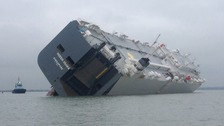 Hoegh Osaka container shi