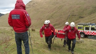 Patterdale's 85 Mountain Rescues in 2014