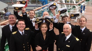 Darcey and the captains