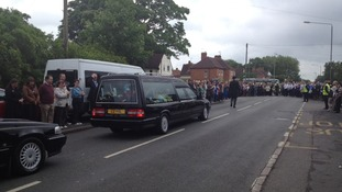 Funeral of James Ashworth