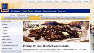 Aldi has recalled Choceur Treasures on sale in the Midlands