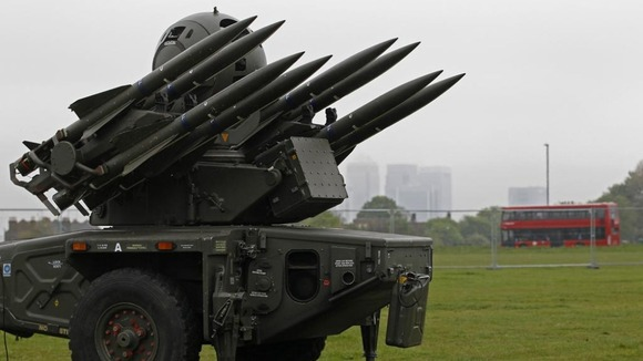 Rapier missile on Blackheath Common