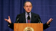 Harvard law professor Alan Dershowitz has launched a defamation lawsuit.