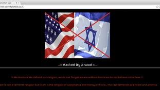 Sowerby school website hacked
