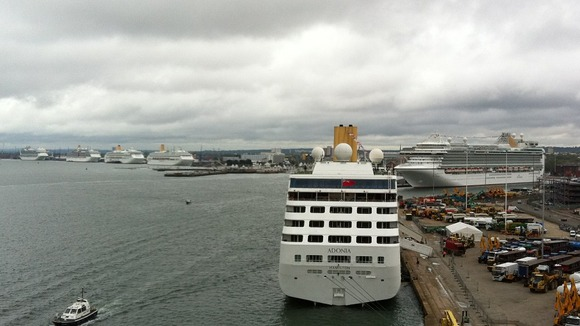 Cruise ships