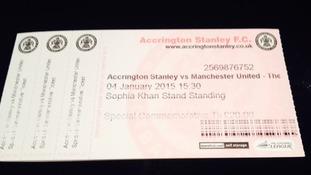 stanley ticket