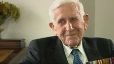 WWII veteran Bernard Jordan caused a stir when he disappeared from his care home.