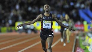 Mo Farah.