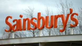 Sainsbury's said like-for-like sales fell 1.7% in the 14 weeks to January 3