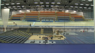 The arena has seating for 1500 spectators when set up for full race mode