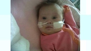 Lacey-Marie Poton died at Bristol Children's Hospital when she was four months old