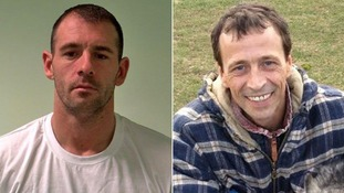 Darren McCormick (L) has been sentenced to life in prison for the murder of Colin Chevalier (R)