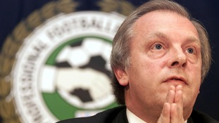 PFA chief executive Gordon Taylor.