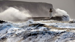 Parts of northern England and Wales will also be affected by the storms