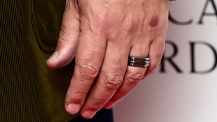 Stephen Fry's engagement ring
