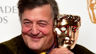 Stephen Fry at the BAFTA launch