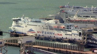 MyFerryLink ferry at Dover