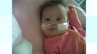 Lacey-Marie Poton died at Bristol Children's Hospital at four months old.