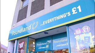 Poundland turnover rose by 22% to £780m.