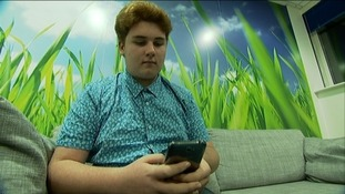 Cameron Holder from Bristol is warning children of the dangers of posting pictures online