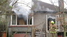 House fire in Leigh-on-Sea in Essex