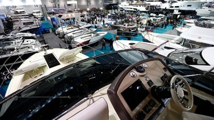 The boats range in value from £300 to £4.5 million