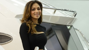 Nicole Scherzinger attends the opening of the London Boat Show