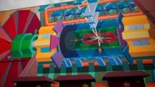 Higgs boson artist's impression