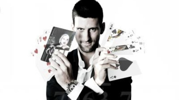 World number one Novak Djokovic.