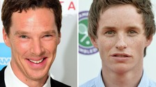 Benedict Cumberbatch and Eddie Redmayne