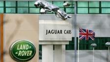 1,300 new jobs at Jaguar Land Rover in Solihull.