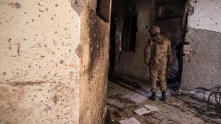 150 schoolchildren and teachers were killed on December 16, last year.