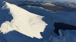 Helvellyn is the highest peak in the Lake District