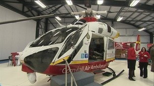 Two new helicopters join the charity's current fleet