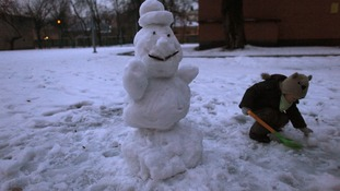The cleric said building a snowmen was to create an image of a human being, which is considered sinful.