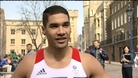 Peterborough gymnast Louis Smith