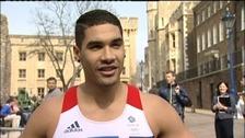 Peterborough gymnast Louis Smith