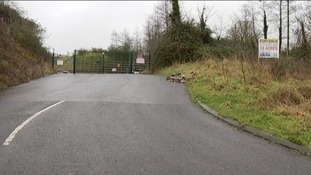Dulcote Quarry entrance
