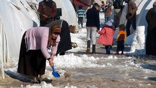 Syrian President Assad dared to take 'snow bucket challenge' for civil war refugees