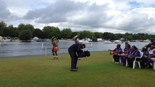 Australian dancers at Henley