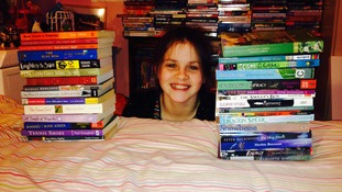 Bookworm pupil puts her 'Faith' in reading