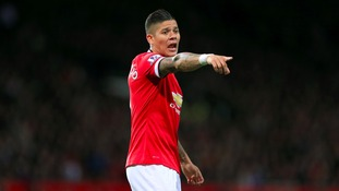 Marco Rojo eyes derby win