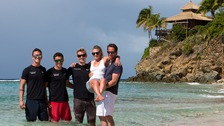 The newly weds had to call Sir Richard Branson's team for help