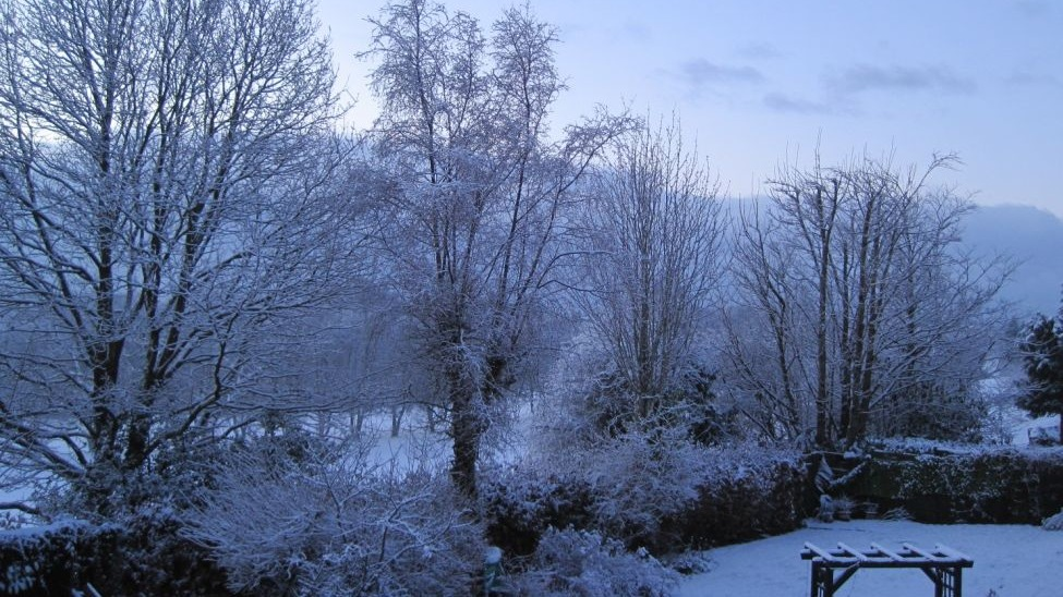 your snow pictures from across wales