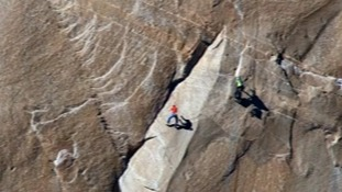 Victory in sight for intrepid rock climbers on El Capitan