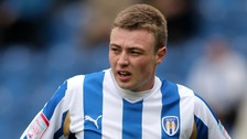 Colchester United's Freddie Sears
