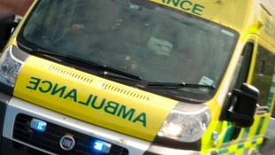 Paramedics couldn't save a motorcyclist who was involved in a crash this morning